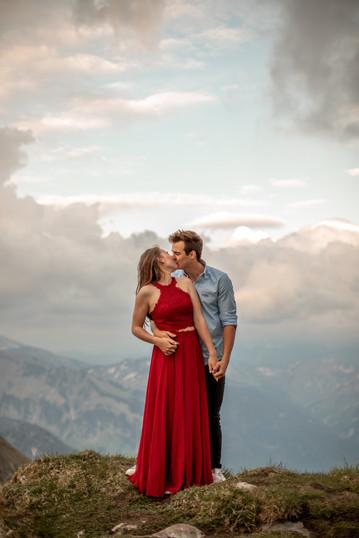 engagement photos in Austria