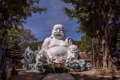 Happy Buddha Statue in Vietnam