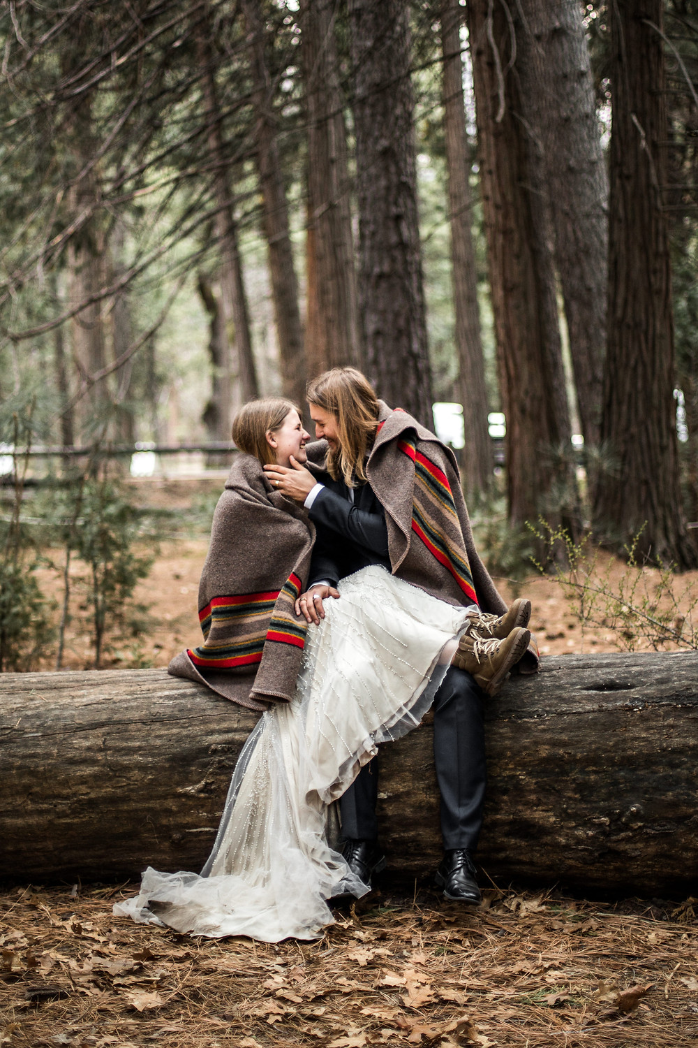 elope in the Yosemite park inspiration