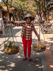 Fly-pitcher in the old Town from Hoi an in Vietnam