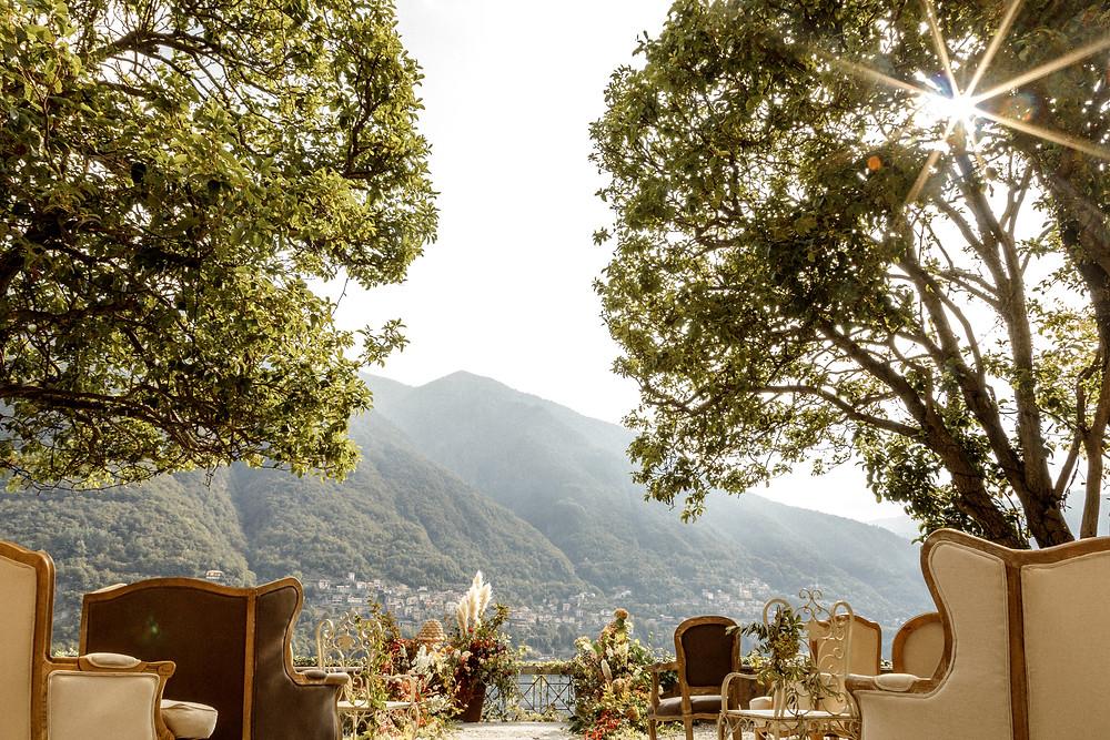 einzigartige Hochzeitslocation am Comosee in Italien