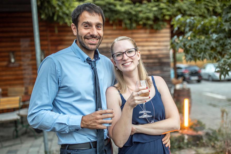 Hochzeitsfeier im Weingut Rebhof - Hochzeitsfotografie am Bodensee, in Nonnenhorn in Deutschland || Bohoray - Abendteuer Hochzeitsfotos und Elopementfotografin - Victoria Rüf || www.bohoray.com