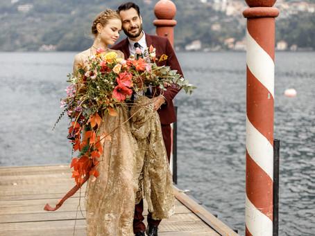 Inspiration Elopement Hochzeit am Comosee in Italien