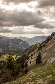 remarkable alpin landscape