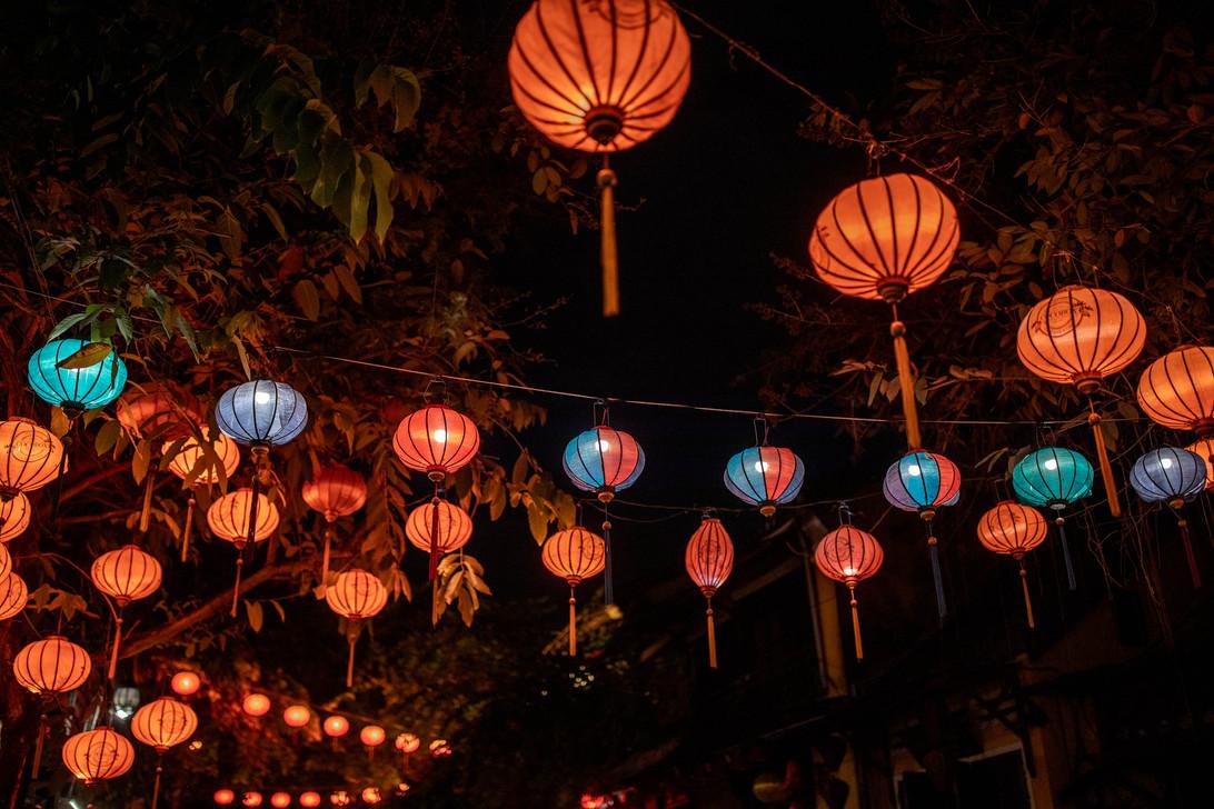 Lanterns in Hoi An in Vietnam