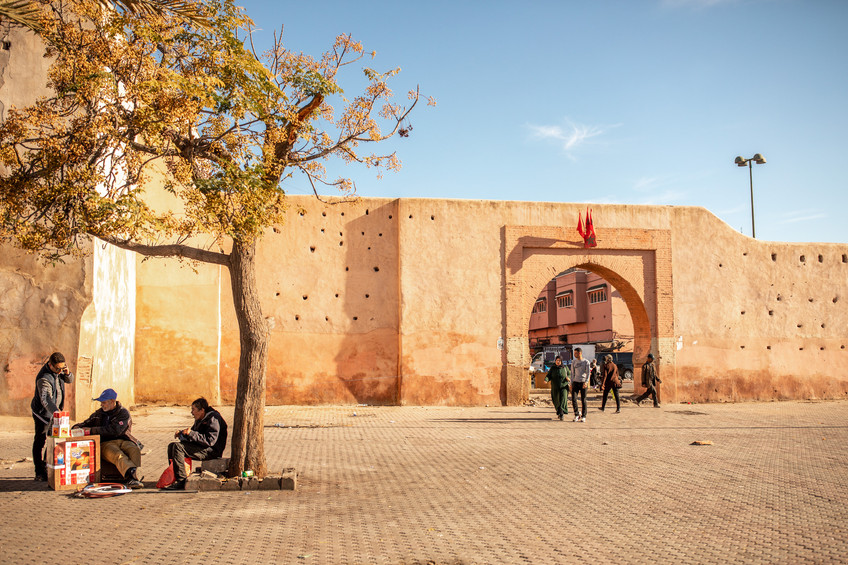 Medina of Marrakech | Travel and Landscape Photography in Morocco Africa || Bohoray - Adventure Elopement and Wedding Photographer - Victoria Ruef || www.bohoray.com