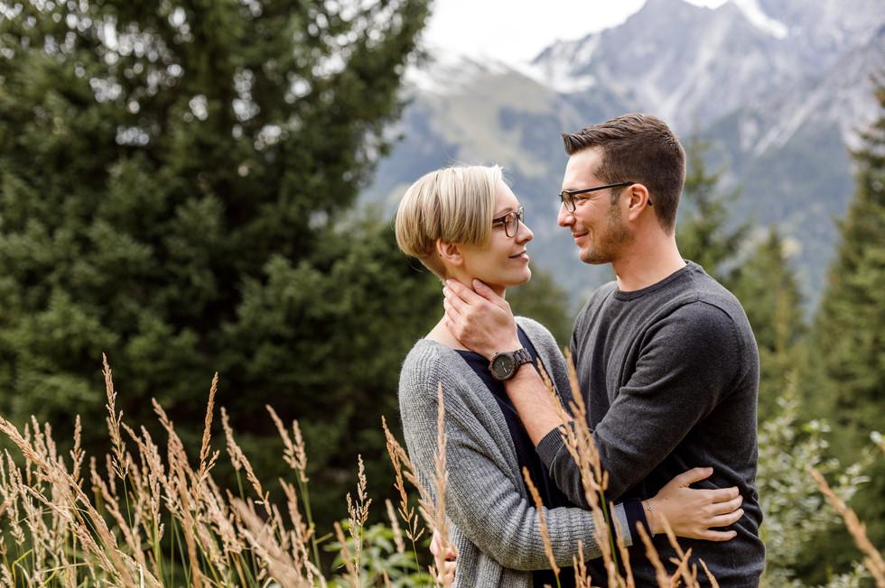 Verlobungsshooting am Arlberg