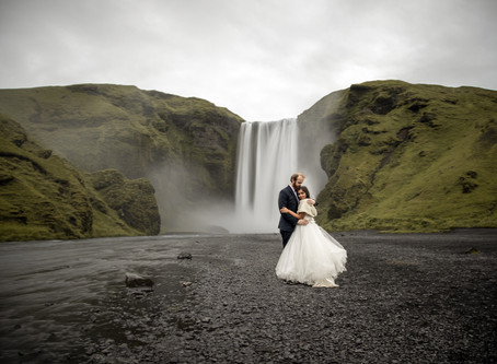 Honeymoon Photos in Iceland