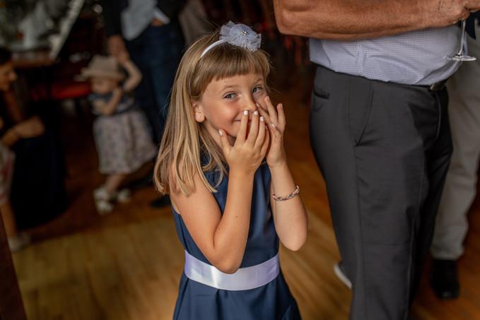 Kinderfotos auf der Hochzeit
