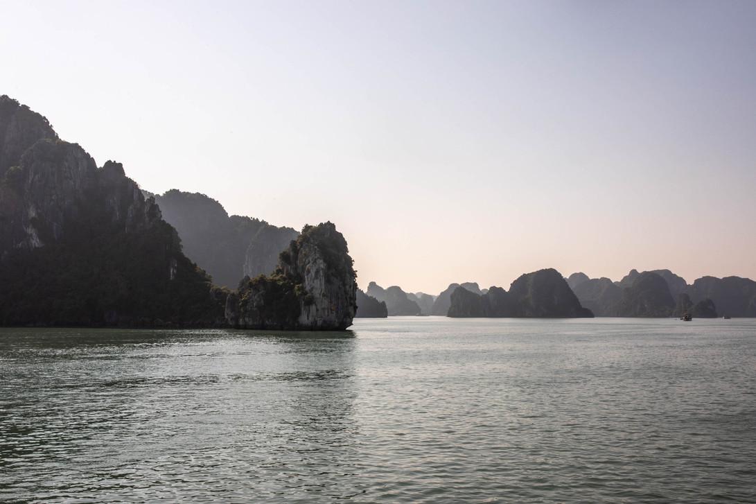 Ha Long Bay in Vietnam has the most beautiful landscape