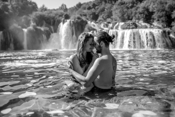 black and white photos from me in croatia