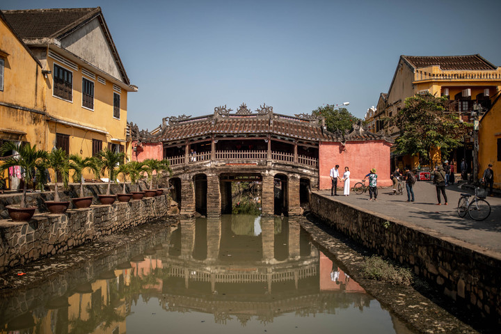Bridge in the old Town from Hoi An, Vietnam