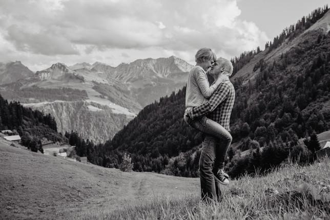 Paarfotoschooting Bregenzerwald