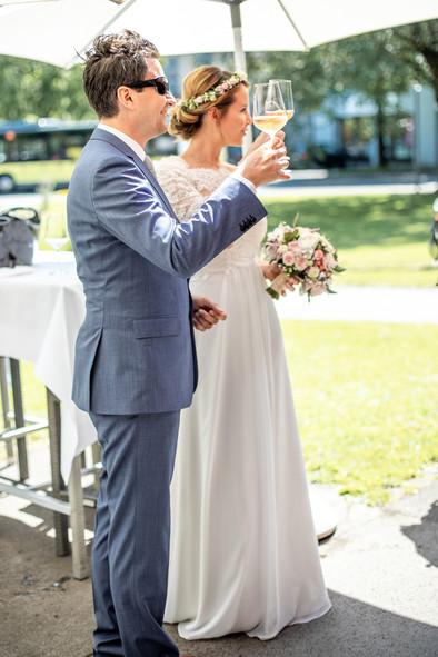Standesamtliche Hochzeit in Hohenms, Vorarlberg