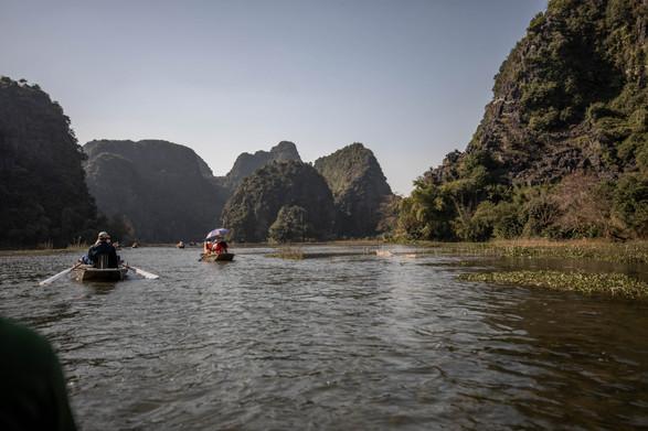 Boat tour in Ninh Binh Vietnam