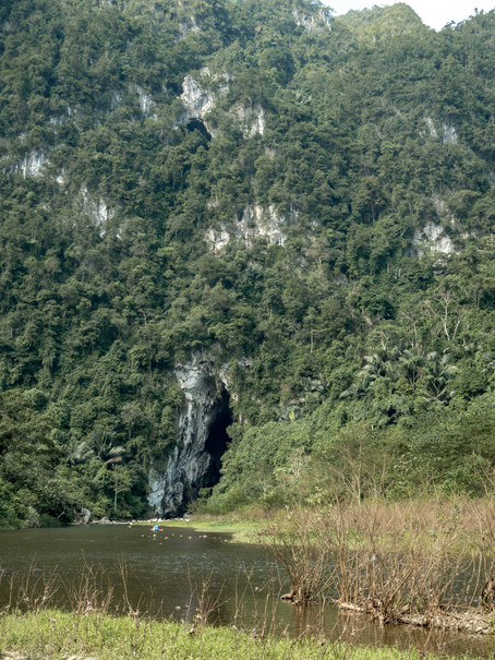 Cave at the Phong Na Ke Bang Nationalpark in Vietnam