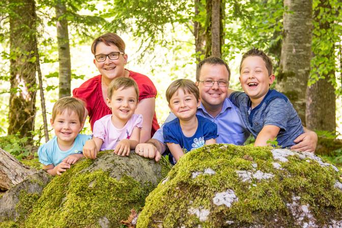 Familienfotografie Bregenzerwald