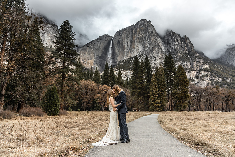 only us two wedding in the Yosemite