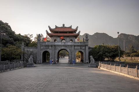 Temple in Ninh Bin in Vietnam