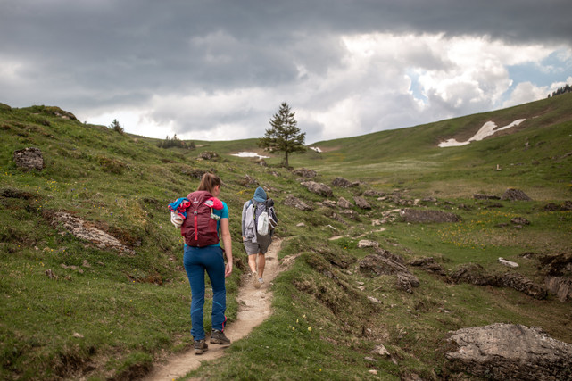 hike to the top of the Kanisfluh in Mellau Austria