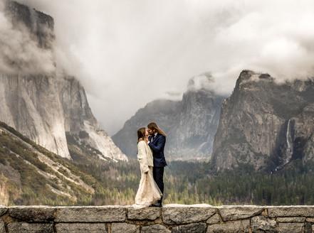 Abenteuer Hochzeit Foto im Yosemite Nationalpark Kalifornien