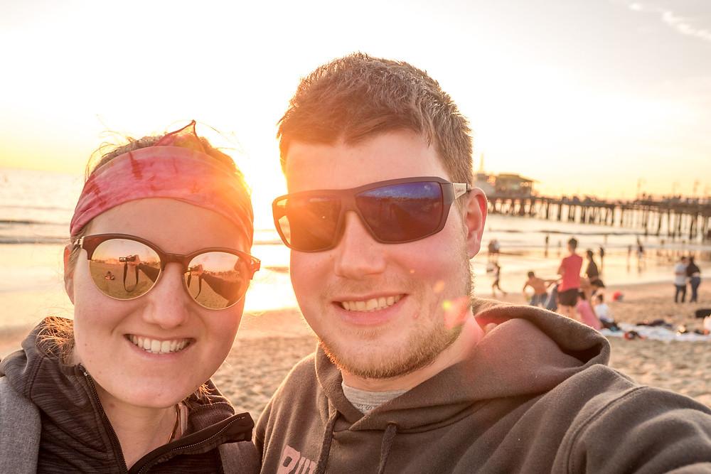 Selfie at Venice Beach