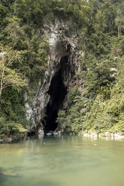 A Cave at the Phong Na Ke Bang Nationalpark in Vietnam