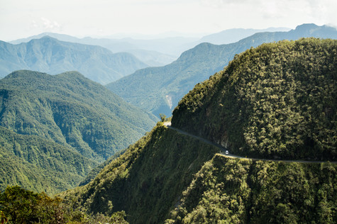 Death Road - Bolivien