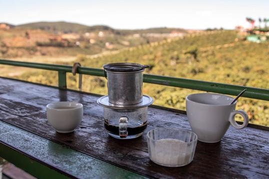special Coffee from a Weasel in Dalat Vietnam