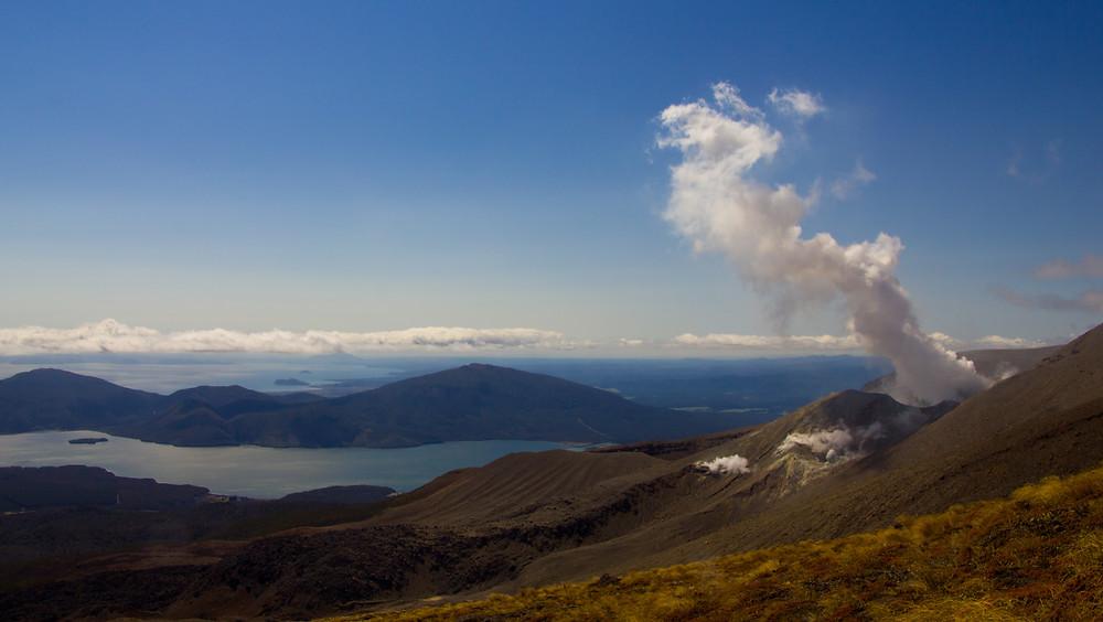 Tongariro Crossing Great Walk in Neuseeland