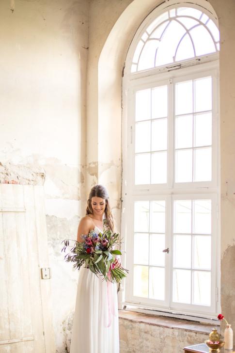 wunderschöne Boho-Hochzeit