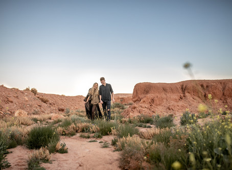 Sunrise Couplesession in Ouarzazate, Morocco