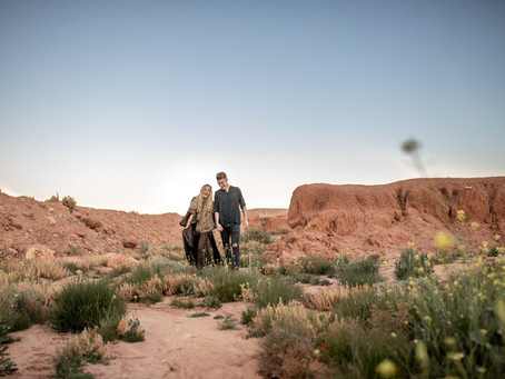 Sunrise Couple Photosession in Ouarzazate, Morocco