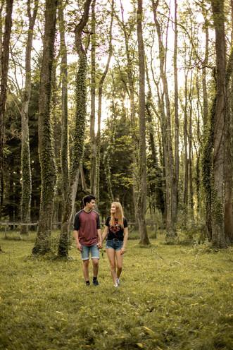 natürliche und ungestellte Paarfotografie