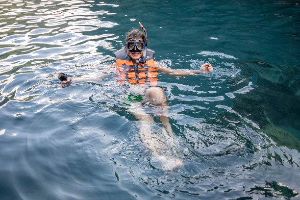 Snorkeling on the Philippines