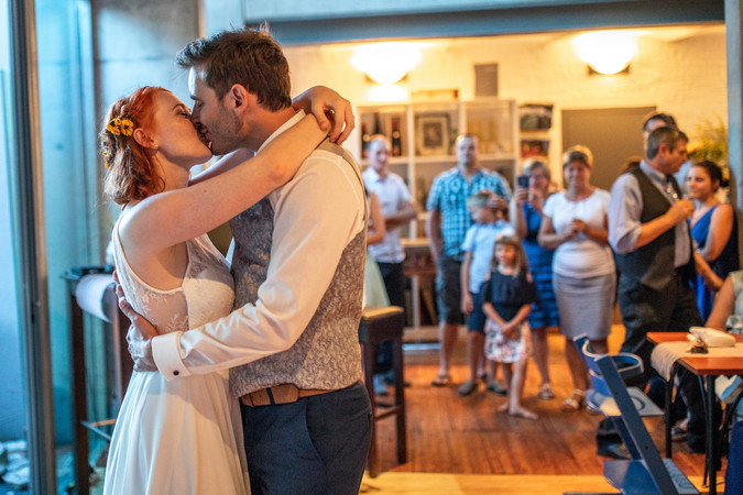 emotionaler Hochzeitstanz