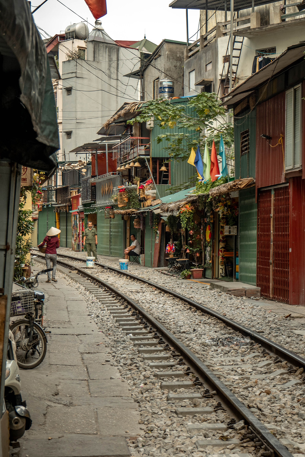 old city in Hanoi Vietnam
