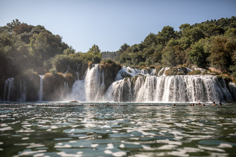 krka nationalpark in croatia is a perfect location for a couple shooting