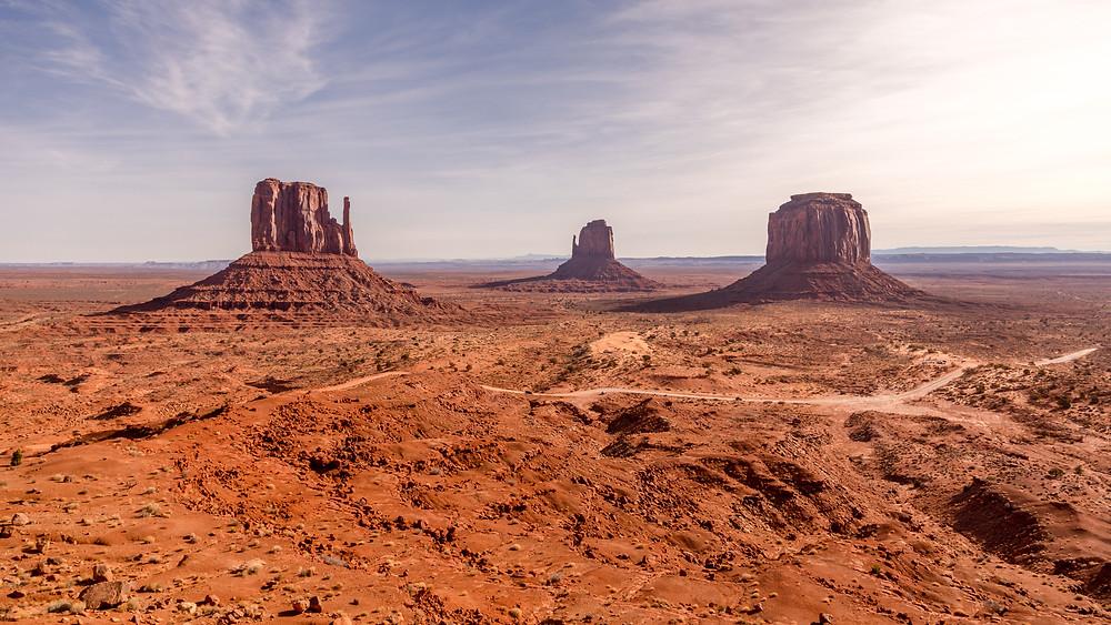 Monument Valley in Moab Utah