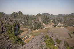 Ninh Binh in winter in Vietnam