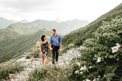 Überwältigendes Paarshooting in den Bergen Österreichs