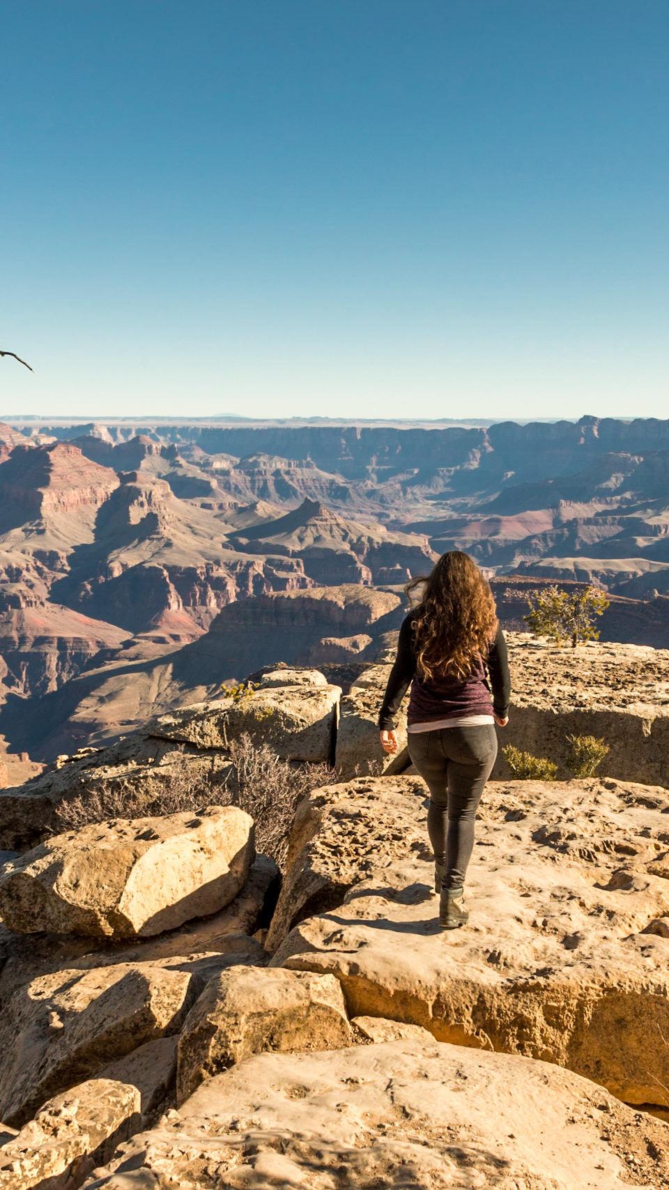 exploring Grand Canyon