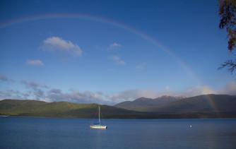 Lake Te Anau - Neuseeland