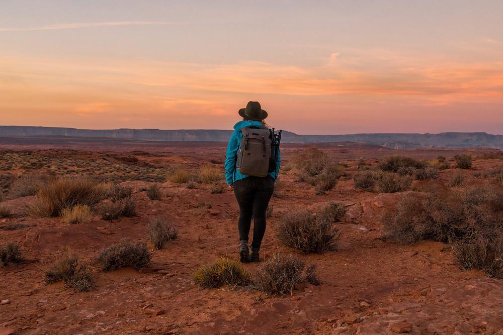 exploring western USA