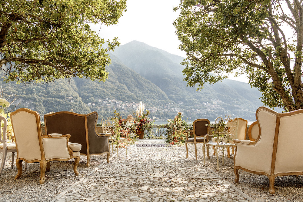 Hochzeitslocation am Comosee in Italien