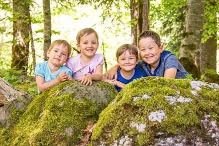 Kinderfotografie im Bregenzerwald
