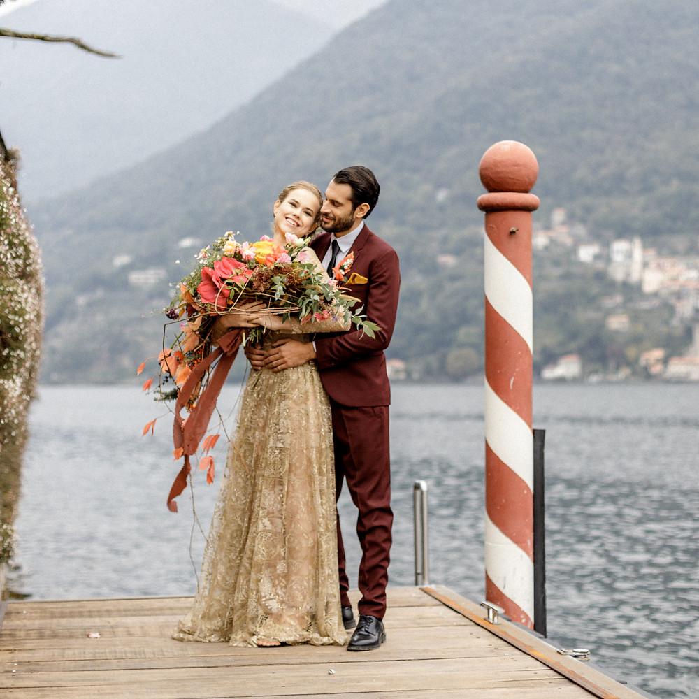 außergewöhnliches Hochzeitsstyling für die Hochzeit im Ausland