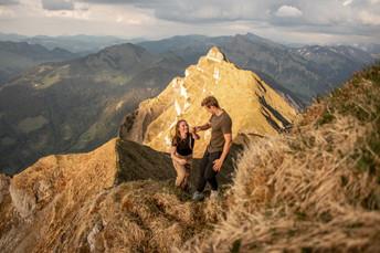 hike to the Kanisfluh in Austria