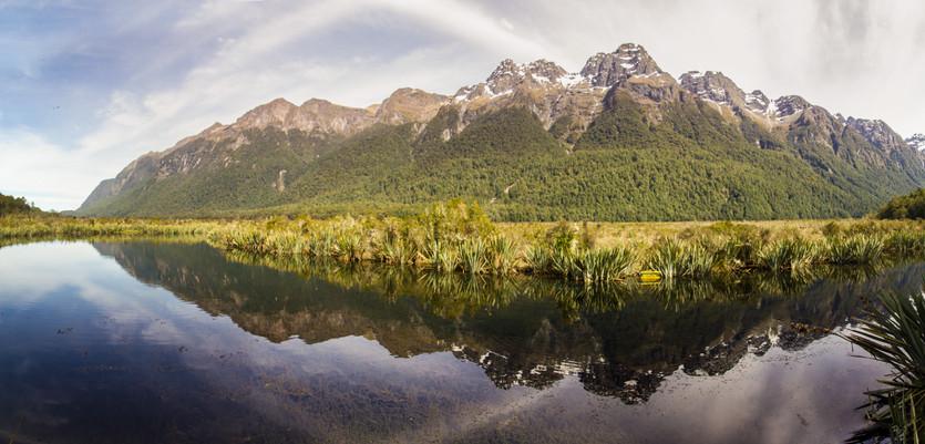 Mirror Lake - Neuseeland