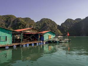 pearl farm at Ha Long Bay in Vietnam